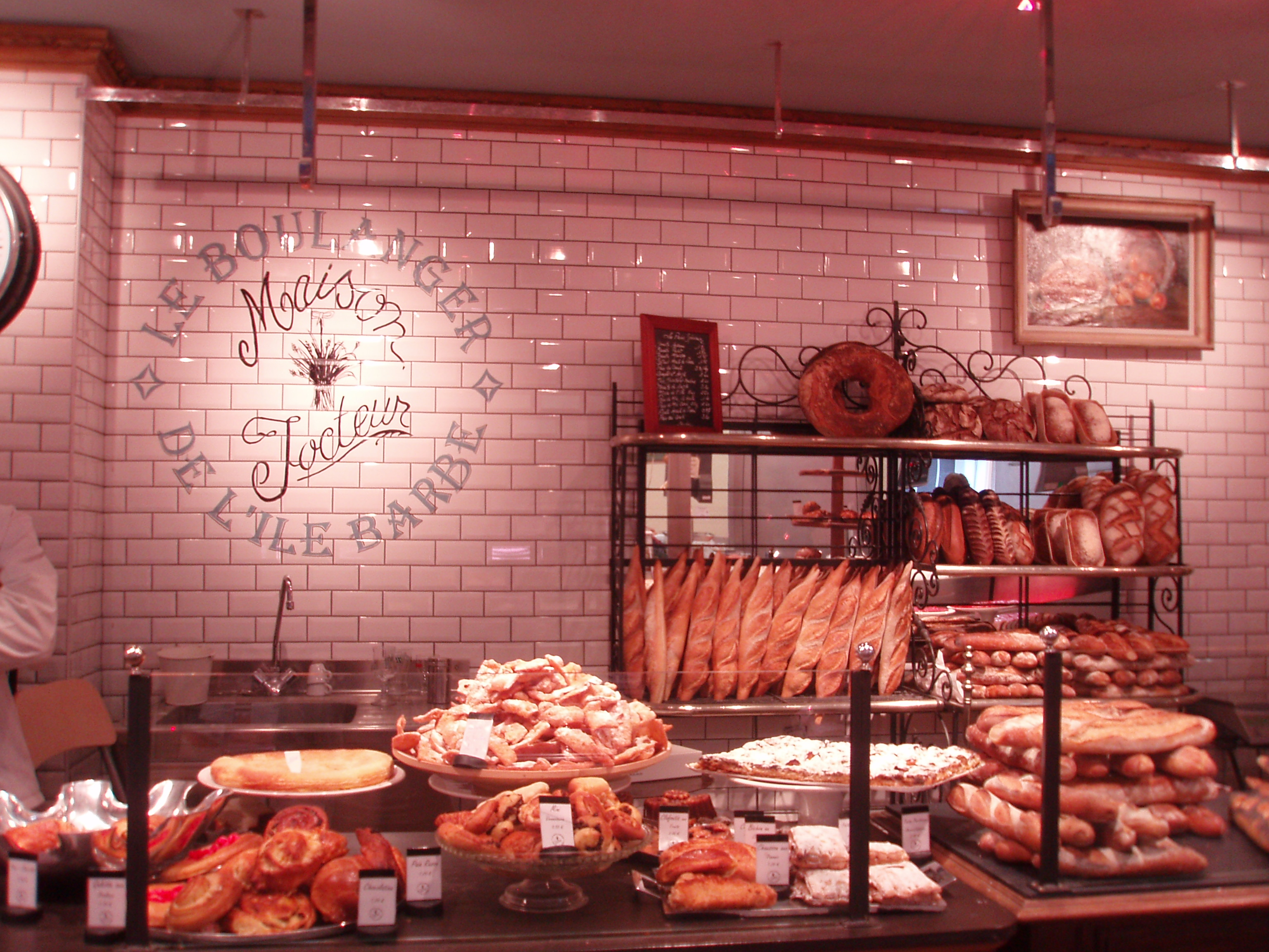 Boulangeries : conozca una panaderia en Francia. | agustina motto